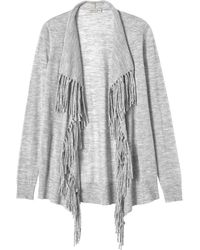 Rebecca Taylor | Checker Pointelle Cardigan | Lyst