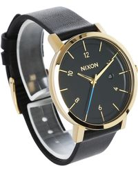 Nixon | Gold/black Rollo Watch | Lyst