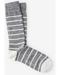 Mr Gray Denim Chip Brenton Sock - Lyst