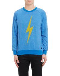 Aviator Nation Lightning Bolt-print Sweatshirt - Lyst