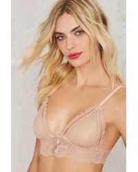 Nasty Gal | Can't Be Stopped Lace Bra | Lyst
