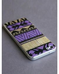 Blissfulcase - Iphone 5 3d Aztec Purple Gel Skin - Lyst