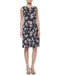 Tory Burch Liana Floralprint Dress - Lyst