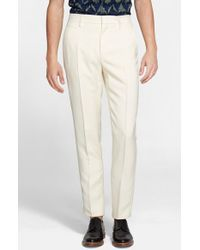Marc Jacobs Slim Fit Pants white - Lyst