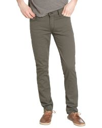 James Jeans Meadow Green Stretch Denim Tom Slim Leg Jeans - Lyst