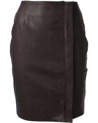 Haider Ackermann Black Athena Skirt - Lyst