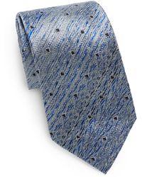 Missoni Graphic Silk Tie - Lyst