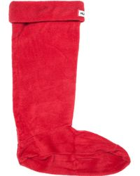 Hunter | Boot Sock Red | Lyst