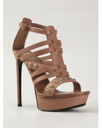 Saint Laurent 'Bianca' Sandals - Lyst