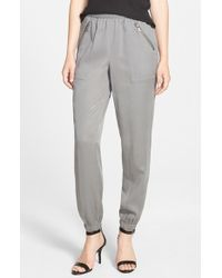 Two By Vince Camuto - Zip Pocket Jogger Pants - Lyst