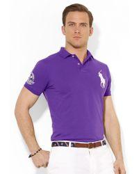 Polo Ralph Lauren Wimbledon Customfit Big Pony Polo Shirt - Lyst