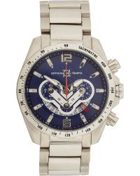 Officina Del Tempo - Stainless Steel Competition Watch - Lyst