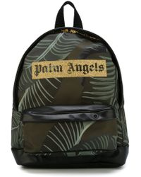 Palm Angels - Logo Print Backpack - Lyst