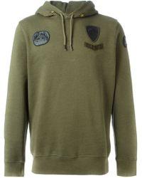 Diesel Military Hooded Sweatshirt - Lyst