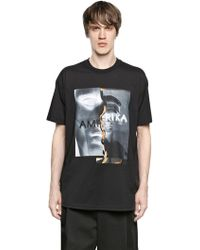 Givenchy Colombian Fit Amerika Cotton T-shirt - Lyst