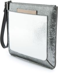 Time's Arrow | Ishi Small Metallic Wristlet | Lyst