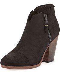 Rag & Bone Margot Leather Ankle Bootie - Lyst