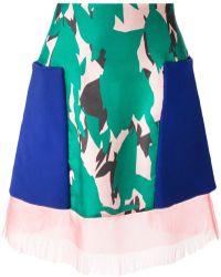 Capara - Patch Pocket Skirt - Lyst