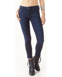 Mother The Crop Skinny Looker Jeans - Lyst