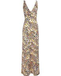 Jane Norman Animal Print Maxi Dress - Lyst