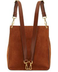 Tom Ford Medium Lockfront Sling Bag Camel - Lyst
