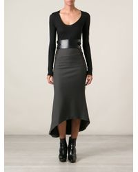 Haider Ackermann Fish Tail Skirt - Lyst