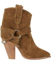 Etoile Isabel Marant Rawson Harness Boots - Lyst