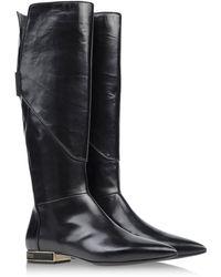 Gianmarco Lorenzi Tall Boots - Lyst