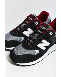 New Balance 580 Tomboy Running Sneaker black - Lyst