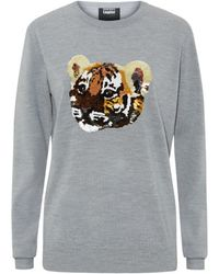 Markus Lupfer Tiger Cub Sequin Sweater - Lyst