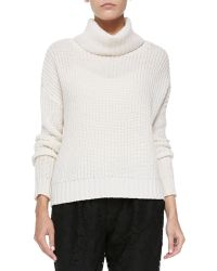 Joie Diona Chunky Knit Turtleneck Sweater - Lyst