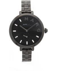 Marc By Marc Jacobs - Sally Watch - Black - Lyst