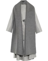 The Row Arnet Bi-colour Coat - Lyst