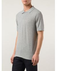 Band of Outsiders Embroidered Logo Polo - Lyst