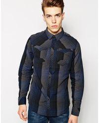 G-star Raw Long Sleeve Shirt - Lyst