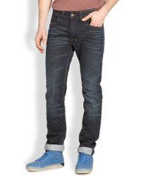Diesel Safado Slim Straight Jeans - Lyst