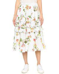 Leur Logette - Garden Rose Skirt - Lyst