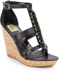 efd1fed42b03 DV by Dolce Vita - Thadie Wedge Platform Sandals - Lyst