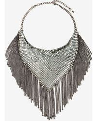 Nasty Gal Handkerchief Chain Necklace - Lyst