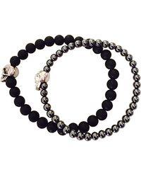 Duchess Of Malfi - Skull Bead Bracelet - Lyst