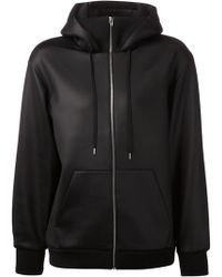 T By Alexander Wang Hooded Track Jacket - Lyst