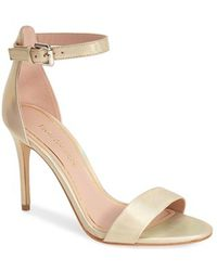 Enzo Angiolini Women'S 'Manna' Ankle Strap Sandal - Lyst