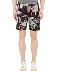 Paul Smith Floral Shorts - Lyst