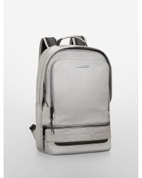 Calvin Klein Gray Asher Backpack - Lyst