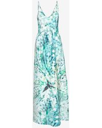 Parker Exclusive Kisa Cut Out Back Printed Maxi Dress - Lyst