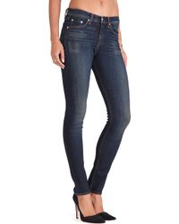 Rag & Bone The Highrise Skinny - Lyst