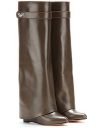 Givenchy Pant Leather Wedge Boots - Lyst