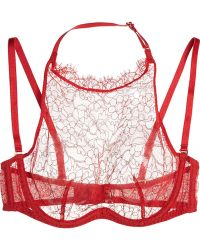 Agent Provocateur Annoushka Lace Underwired Bra - Lyst