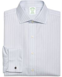 Brooks Brothers Non-Iron Milano Fit Triple Stripe French Cuff Dress Shirt - Lyst