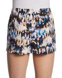 Twelfth Street by Cynthia Vincent Silk Drawstring Shorts - Lyst